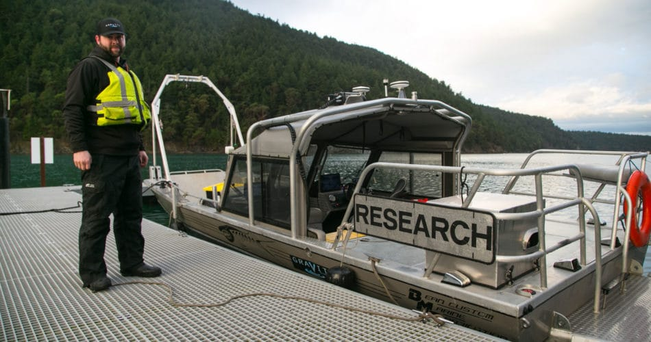 Mazama landing craft